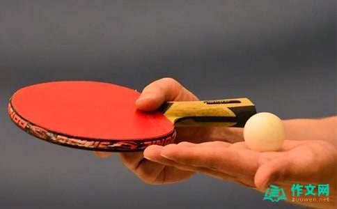 打乒乓球优秀作文300字打乒乓球优秀作文300字